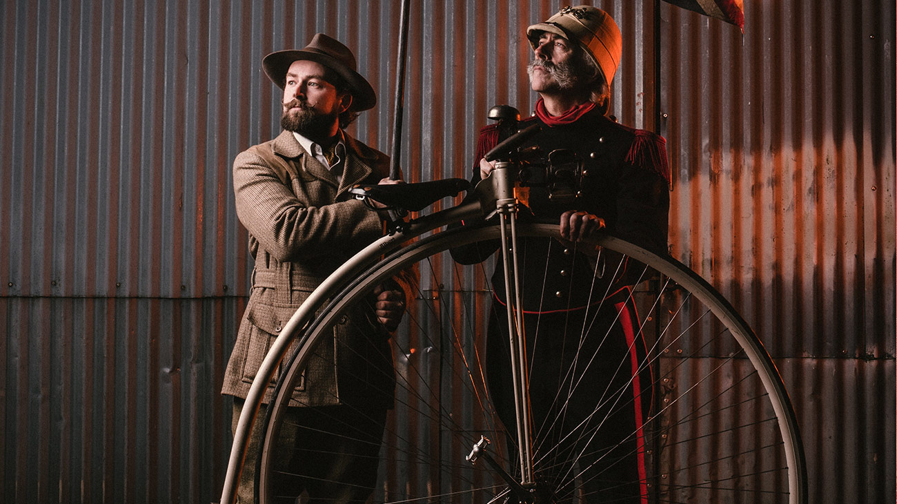 Penny Farthings at the Adventure Travel Film Festival
