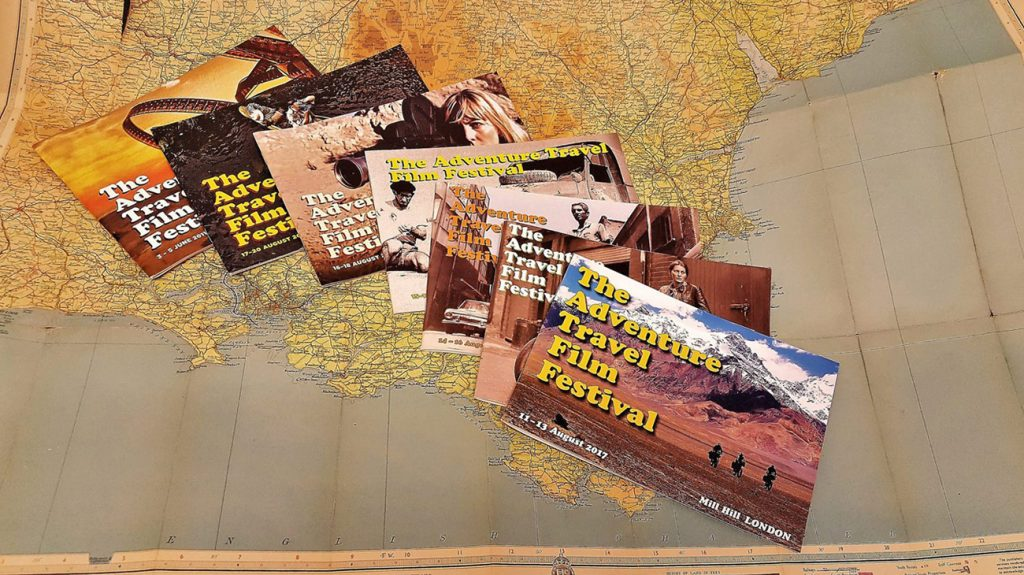 Adventure Travel Film Festival brochures of yesteryear
