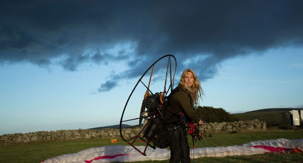 Sacha Dench adventurer