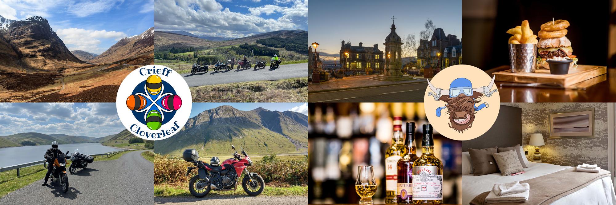 Crieff Cloverleaf - Scotland, for bikers, by bikers.