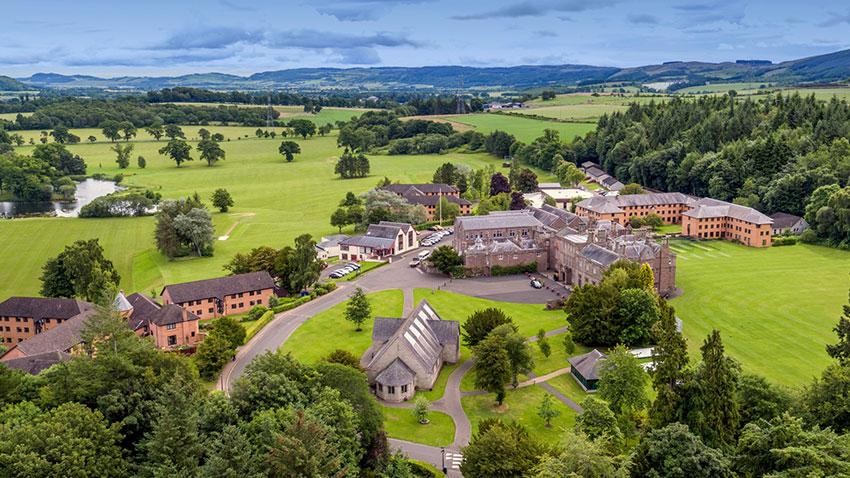 Strathallan School in Scotland